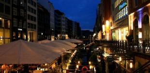 Hamburg am Abend