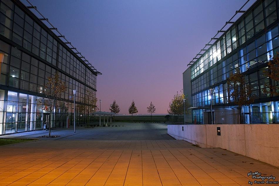 DHBW Mannheim @ Night